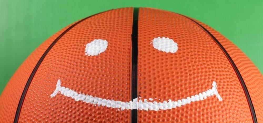 I swallowed a basketball.